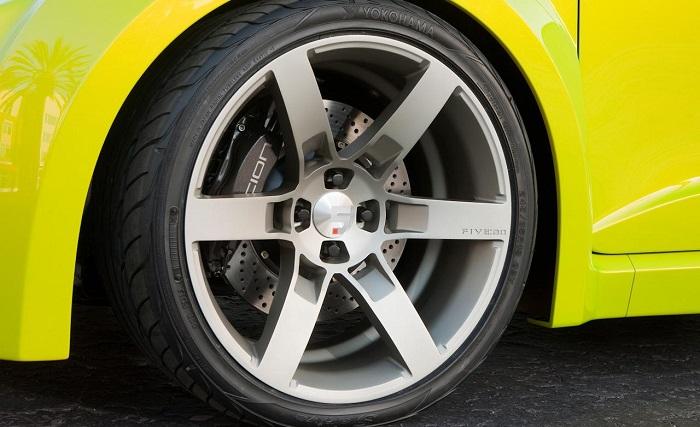 Давление внутри шин