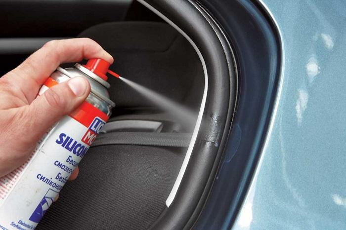 Смазка для резинок уплотнителей дверей автомобиля