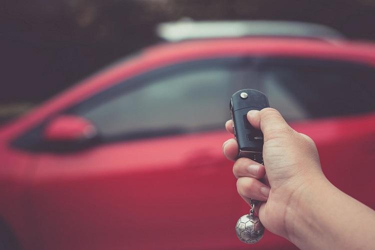 Брелок автомобиля