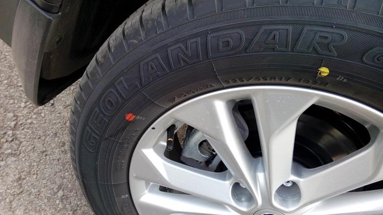 Обозначение на шинах