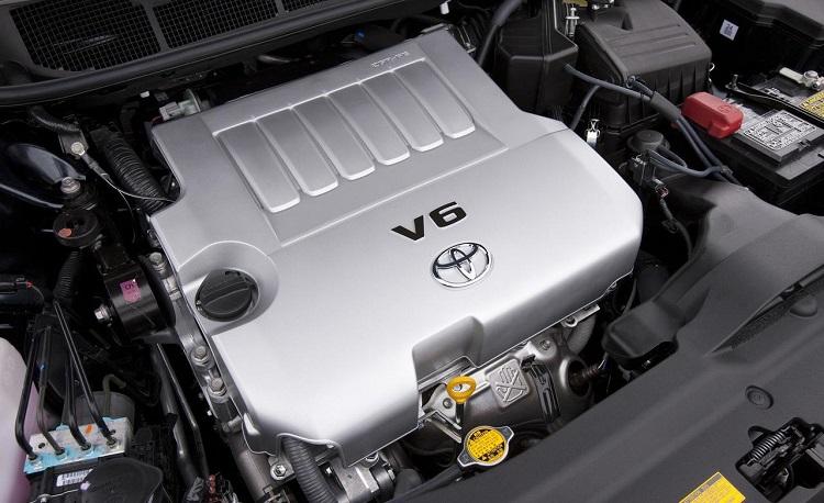 Двигатель на Тойоте