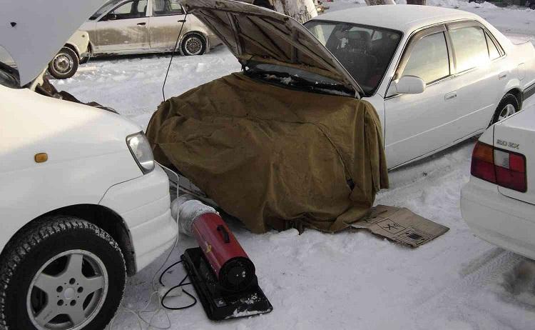 Утепление двигателя
