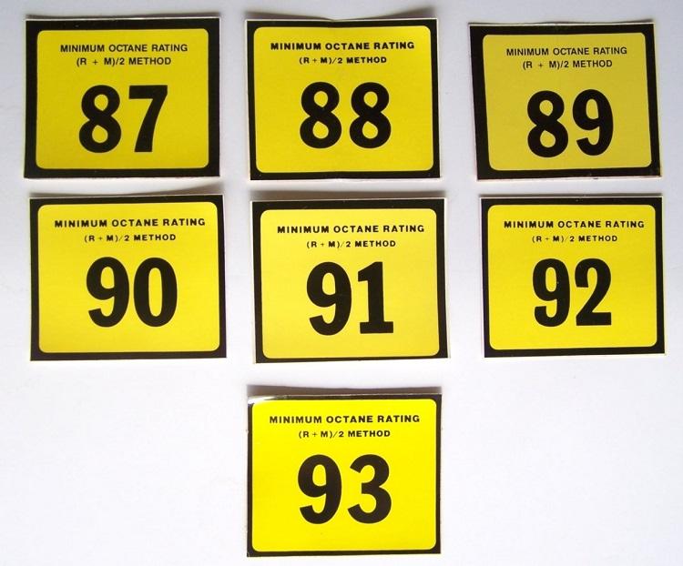Октановое число топлива