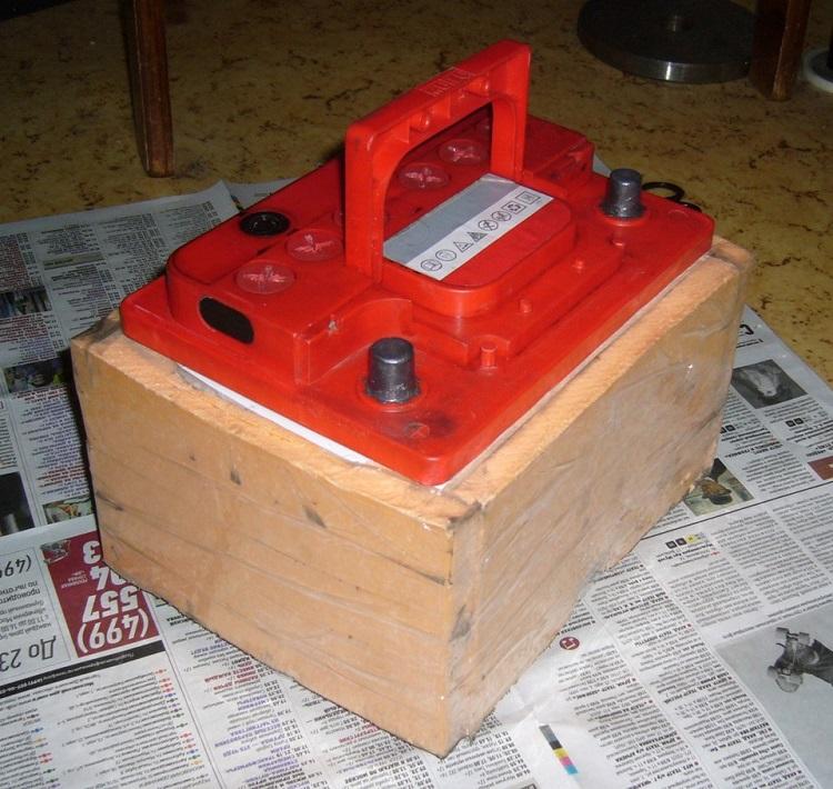Короб для аккумулятора