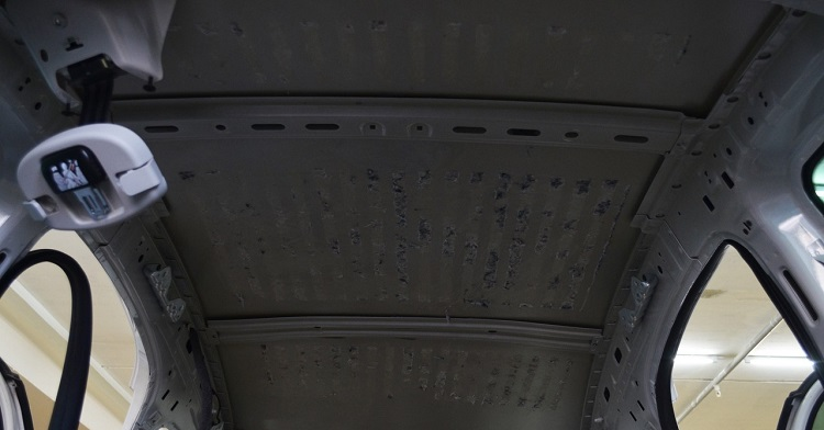 Снятие потолка
