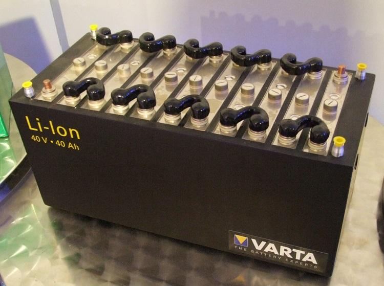 Батарея литий-ионного типа
