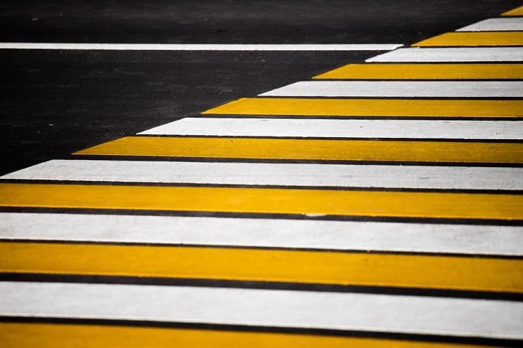 Зона пешеходного перехода