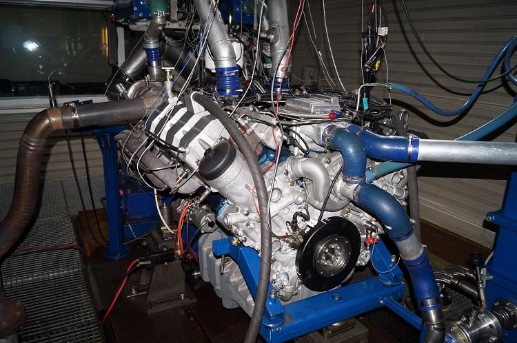 Стенд для обкатки двигателя