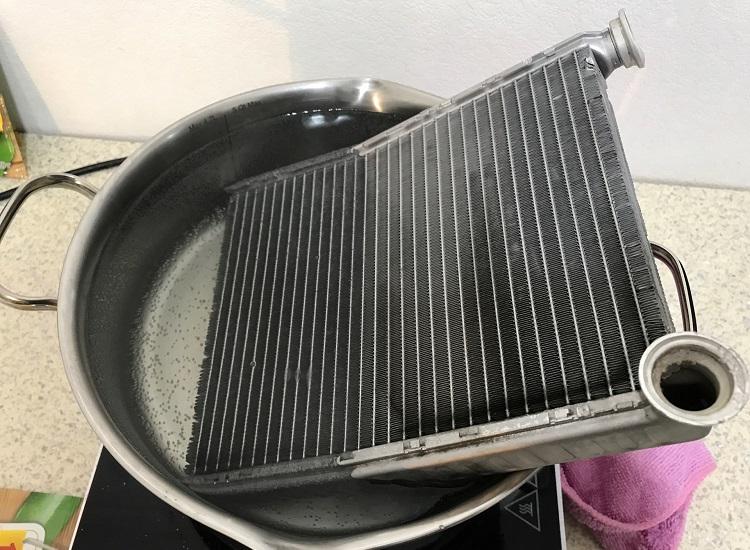 Можно ли промыть систему охлаждения двигателя лимонной кислотой
